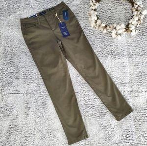 CHARTER CLUB Autumn Sage Bristol Skinny Ankle Jean